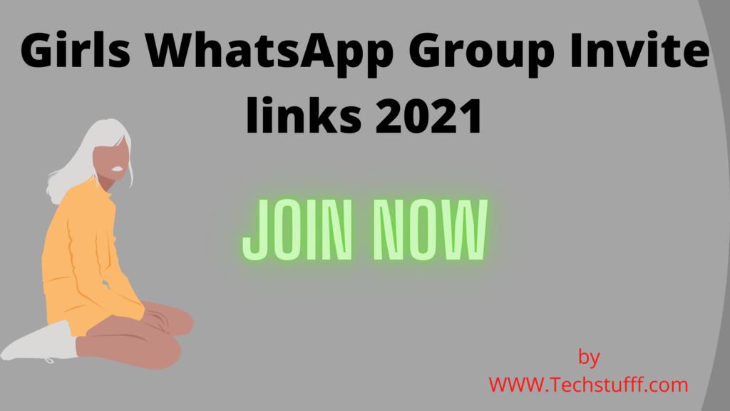 Girls WhatsApp Group Invite links 2021