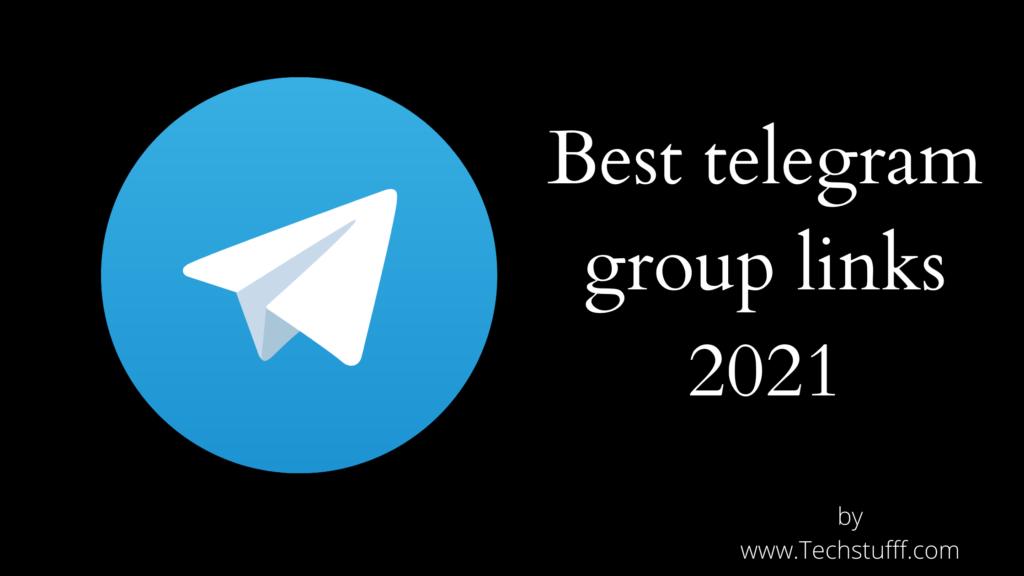 Best telegram group links 2021