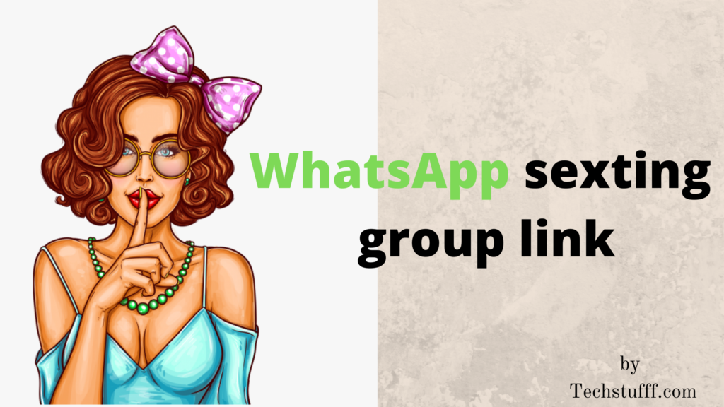 WhatsApp sexting group link