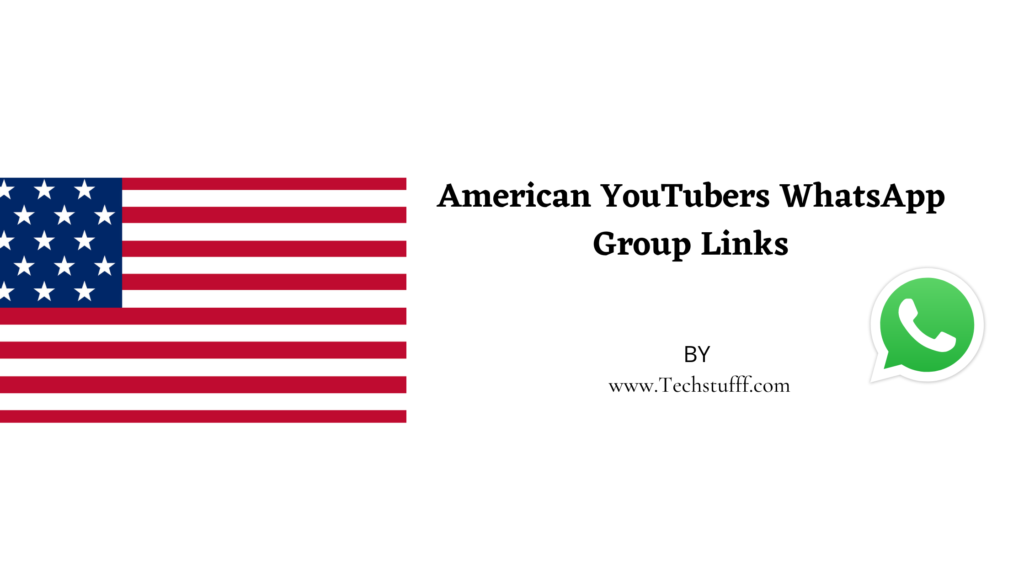 American YouTubers WhatsApp Group Links